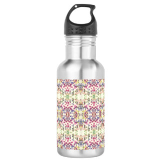 Digital Art Pattern Water Bottle