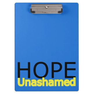 Digital Art Photography: Hope Unashamed Clipboard