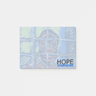 Digital Art Photography:  Hope Unashamed Post-it Notes