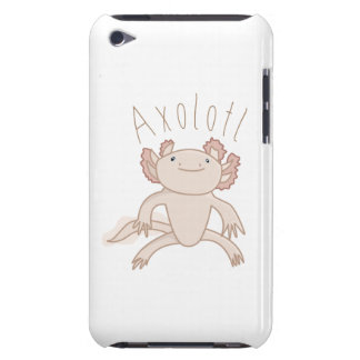 Digital Axolotl Illustration, Cute Animal iPod Touch Case-Mate Case