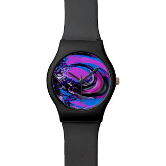Digital Big Wave Watch