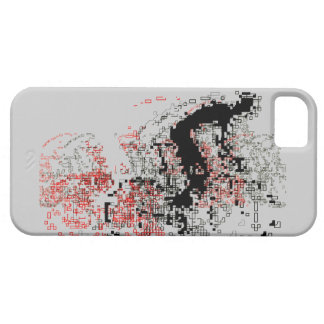 Digital bike art iphone 5 case