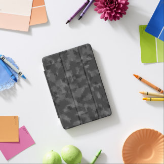 Digital Black Camo iPad Mini Cover