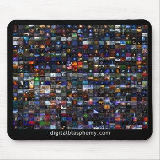 Digital Blasphemy 25 x 25 Mosaic Mouse Pad