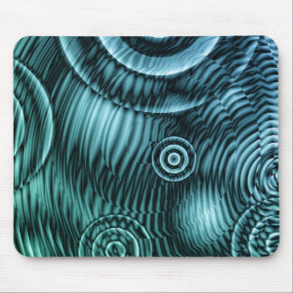 digital blue abstract mouse pad