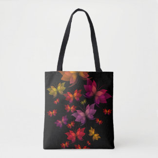 Digital Butterflies All-Over-Print Tote Bag