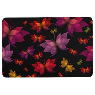 Digital Butterflies Floor Mat