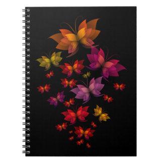 Digital Butterflies Notebook
