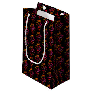 Digital Butterflies Pattern Small Gift Bag