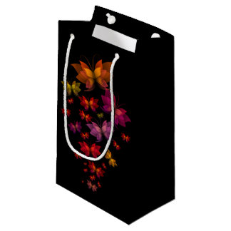 Digital Butterflies Small Gift Bag