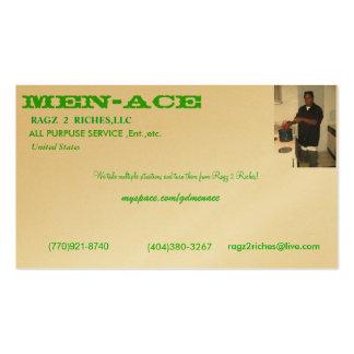 digital camera 080, Men-Ace, United States , (7... Pack Of Standard Business Cards