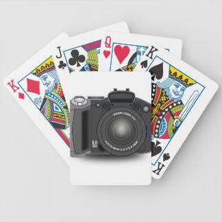 Digital Camera Bicycle Playing Cards