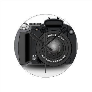 Digital Camera Round Clock