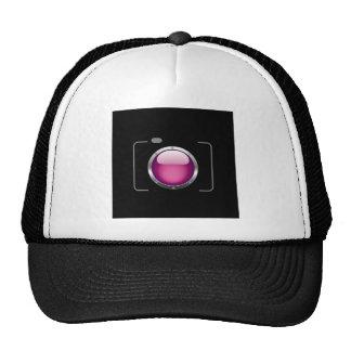 Digital camera with a pink aperture cap