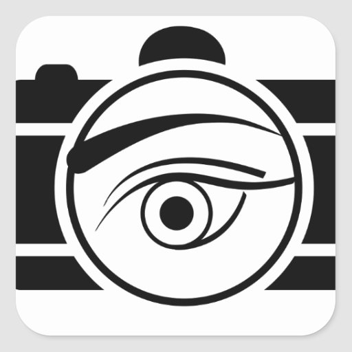 Digital Camera with an eye Stickers