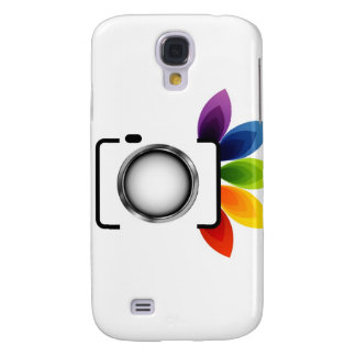 Digital camera with colorful leaves galaxy s4 case