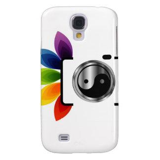 Digital Camera with ying yang symbol Galaxy S4 Cover
