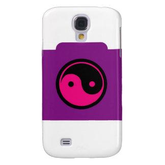 Digital Camera with ying yang symbol Samsung Galaxy S4 Covers