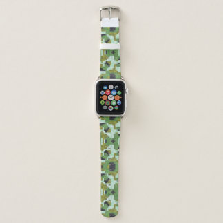dIGITAL cAMO piXELS Apple Watch Band