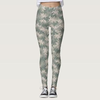 Digital Camouflage Leggings