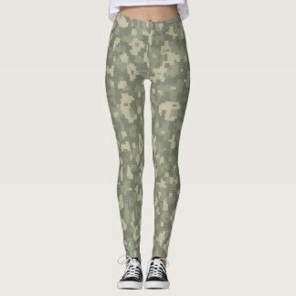 Digital camouflage Leggings tight pants yoga