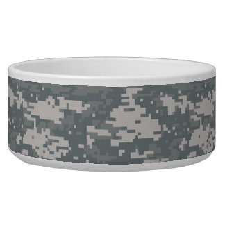 Digital Camouflage Pet Bowl