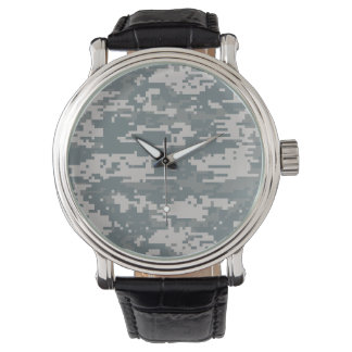 Digital Camouflage Watch