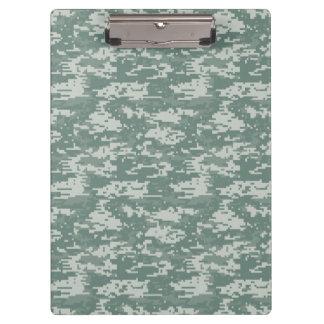 Digital Camouflage Woodland Clipboard