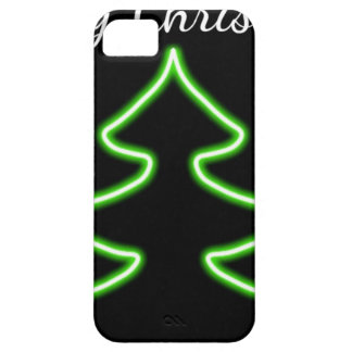 Digital Christmas tree iPhone 5 Cover