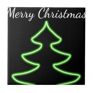 Digital Christmas tree Tile