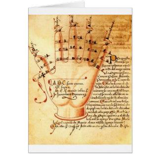 Digital Comput: Medieval Mathematics Card