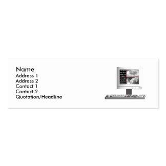 Digital Creation - Skinny Size Business Card