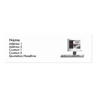 Digital Creation - Skinny Size Pack Of Skinny Business Cards