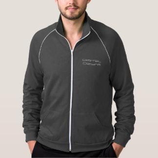 """digital DzynR's """"BLACK MAMBA"""" Jacket / White Logo"""