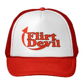 "digital DzynR's ""FLIRT DEVIL"" LADIES Ball Caps Trucker Hat"