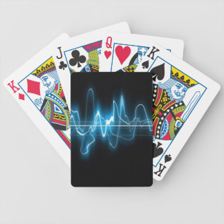 DIGITAL ELECTRIC CURRENT SWIRLS ABSTRACT TIMELINE CARD DECK