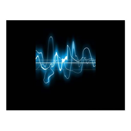 DIGITAL ELECTRIC CURRENT SWIRLS ABSTRACT TIMELINE POST CARDS
