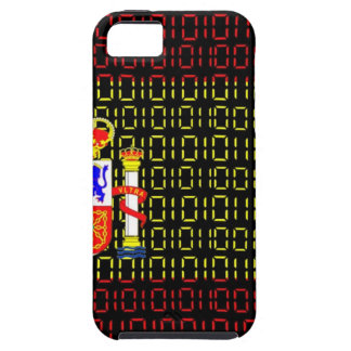 digital Flag (spain) iPhone 5 Cases