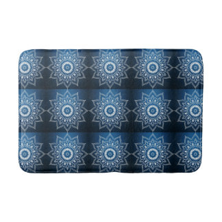 Digital Flower Bath Mat