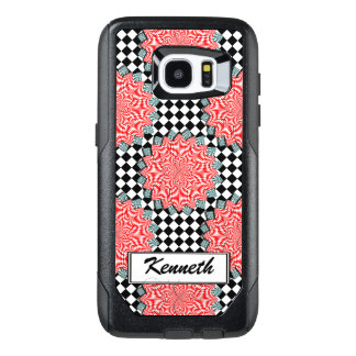 Digital Flower by Kenneth Yoncich OtterBox Samsung Galaxy S7 Edge Case