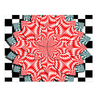 Digital Flower by Kenneth Yoncich Postcard