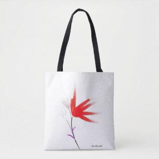 Digital Flower Tote Bag