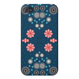 Digital Fractal Style, Apple and Mobile Cases Cases For iPhone 4