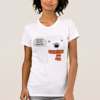 Digital hand drawing Bear, Create your own design T-Shirt