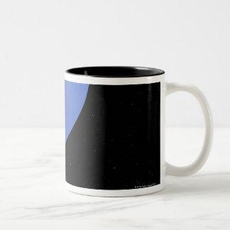Digital Illustration of Neptune Two-Tone Coffee Mug