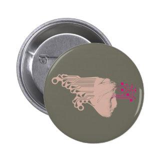 Digital Kore maiden khaki button