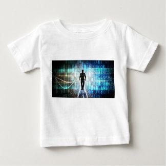 Digital Literacy as a Technology Concept Backgroun Baby T-Shirt