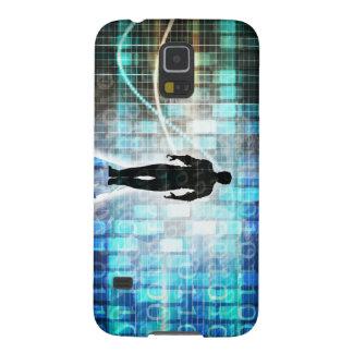 Digital Literacy as a Technology Concept Backgroun Galaxy S5 Case