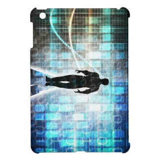 Digital Literacy as a Technology Concept Backgroun iPad Mini Cover