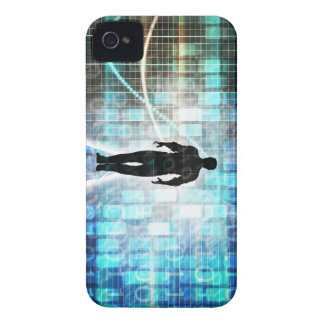 Digital Literacy as a Technology Concept Backgroun iPhone 4 Covers